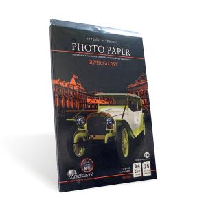 Фотобумага, Суперглянцевая RC, A4, 260г/м2, 50 листов, высокого качества
